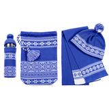 Набор Скандик, синий (васильковый) фото