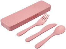 Набор столовых приборов Bamberg, розовый фото