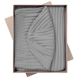 Набор Stripes: шарф и шапка, серый фото