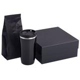 Набор Grain: термостакан и кофе, черный фото