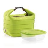 Набор термосумка+контейнер handy малый зеленый, зеленый фото