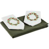 Набор текстиля Wintertainment, с рождественским венком фото