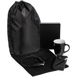 Набор Welcome Kit (футболка, кружка, bluetooth наушники, ежедневник, флешка на 8 Гб, ручка шариковая), черный фото