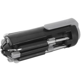 Набор инструментов Fix It, 5 инструментов, черно-стальной фото