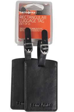 Набор из 2 бирок Luggage Accessories, черный фото