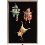 Набор из 3 елочных игрушек Circus Collection: барабанщик, акробат и слон фото