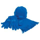 Набор Зима, синий фото