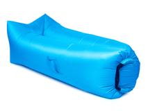 Надувной диван Биван 2.0, голубой фото