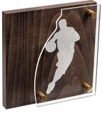Награда Celebration, баскетбол, коричневый/серебристый фото