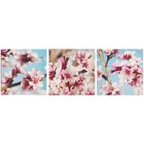 Настенная композиция «Цветение», холст фото