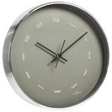 Настенные часы Philippi Tempus Fugit, серебристые фото