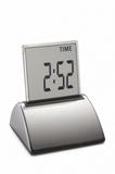 Настольные часы Philippi Touch, серебристые фото