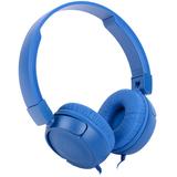 Наушники JBL T450, синие фото