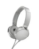 Наушники Sony XB-550, белые фото
