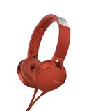 Наушники Sony XB-550, красные фото