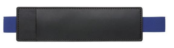 Футляр-карман для ручки HOLDER Soft, черный/синий фото