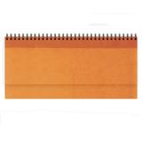 Недатированный планинг VELVET 5495 (794) 298x140 мм, оранжевый, календарь до 2019 г фото