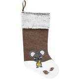 Носок для подарков Noel, с мышкой фото