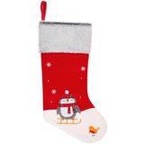 Носок для подарков Noel, с пингвинами фото