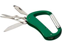 Нож Canyon с карабином, зеленый фото