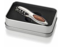 Нож многофункциональный Semmy, серебряный/серый, коричневый фото