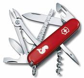 Нож Victorinox Angler, красный, 91 мм, 19 функций фото