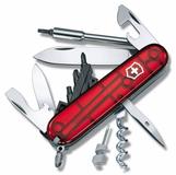 Нож Victorinox CyberTool, красный полупрозрачный, 91 мм, 27 функций фото