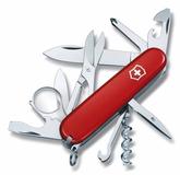 Нож Victorinox Explorer, красный, 91 мм, 16 функций фото