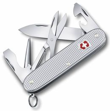 Нож Victorinox Pioneer, серебристый, 93 мм, 9 функций фото