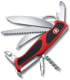 Нож Victorinox RangerGrip 57 Hunter, чёрно-красный, 130 мм, 13 функций фото