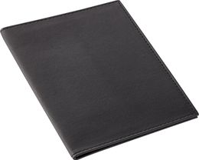 Обложка для паспорта Twill, черная фото