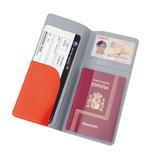 Обложка для тревел-документов Flight, красный фото