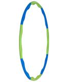 Обруч массажный Hula Hoop, сине-зеленый фото