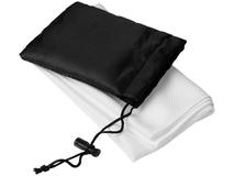 Охлаждающее полотенце Peter в сетчатом мешочке, белое фото
