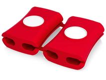 Органайзер для проводов Snappi 2шт, 61 x 41 x 13мм, красный фото
