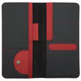 Органайзер для путешествий Hakuna Matata, черный с красным фото