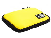 Органайзер для зарядных устройств, USB-флешек и других аксессуаров, жёлтый фото