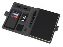 Органайзер с беспроводной зарядкой Powernote, чёрный, 5000 mAh фото