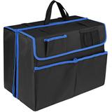 Органайзер-трансформер в багажник автомобиля Carmeleon, черный/синий фото