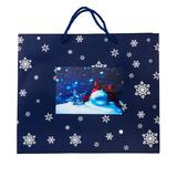 Пакет большой BLUE WONDER, синий фото