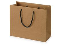 Пакет подарочный Kraft M, коричневый фото