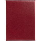 Папка адресная Nebraska, формат А4, бордовая фото