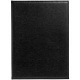Папка адресная Nebraska, формат А4, черная фото