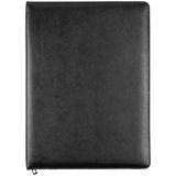 Папка для документов Linen, черная фото
