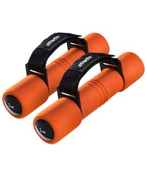 Пара гантелей Biceps 1 кг оранжевого цвета, оранжевый фото