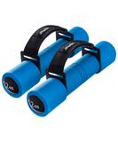 Пара гантелей Biceps 2 кг синего цвета, синий фото