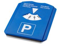 Парковочный диск для автомобиля, королевский синий фото