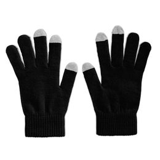 Перчатки для сенсорных экранов, черный фото