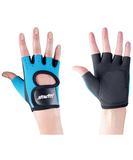 Перчатки для фитнеса Blister Off, черные с бирюзовым фото