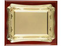 Плакетка Таррагона, золотой, коричневый фото